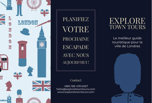 London travel brochures  Brochure