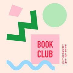 Book Club Meeting Flyer