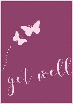 get well Purple