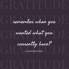 Dark Purple Gratitude Saying Instagram Square Purple