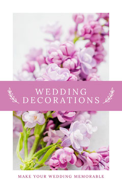 WEDDING DECORATIONS Pinterest