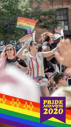 Rainbow Banner Pride Month Snapchat Geofilter Pride