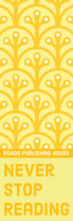 Yellow Bookmark with Pattern Pattern Design