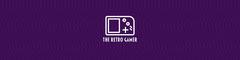 Retro Gamer Twitch Banner Purple
