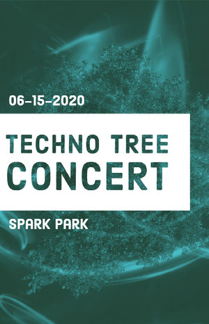 TECHNO TREE CONCERT 콘서트 포스터