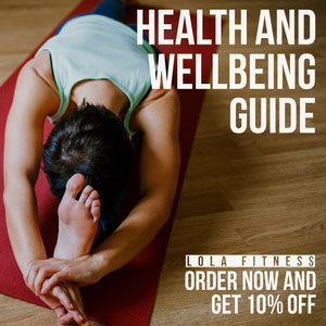 Health Wellbeing Guide IG Square Yoga Posters