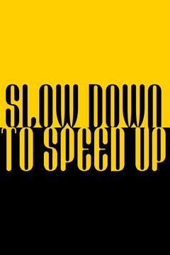 slow down pinterest  Yellow