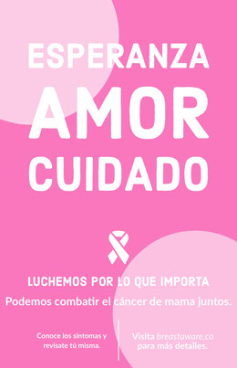 breast cancer poster Octavilla
