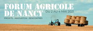 Blue Tractor Agriculture Fair Twitter Banner Bannière