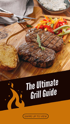 The Ultimate <BR>Grill Guide<BR> Instagram Story