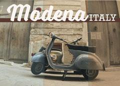 Modena Postcard Italy