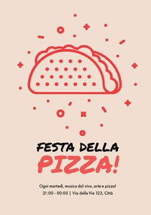 Festa della pizza! Invito