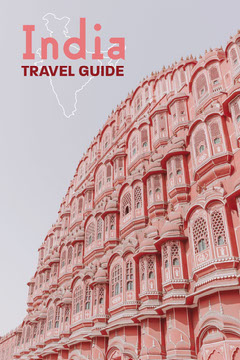 Pink Grand Building Travel Guide Pinterest Post Guide