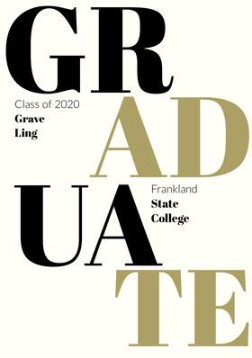 GR Graduation Invitation