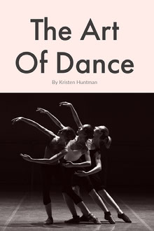 Pink and Black The Art Of Dance Book Cover Couverture de livre