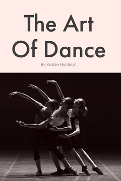 Pink and Black The Art Of Dance Book Cover Dance Flyer
