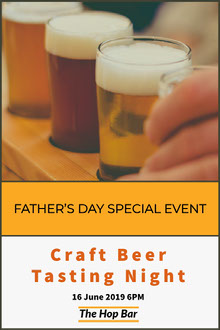 Craft Beer Tasting Night Father's Day Card
