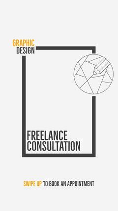 Graphic Design Consultation Instagram Story Designer