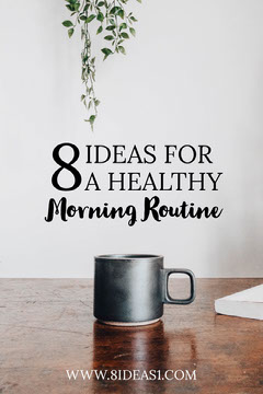 White Ideas Healthy Morning Routine Pinterest  Wellness