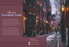 Red City Tour Travel and Tourism Brochure with Street Travel