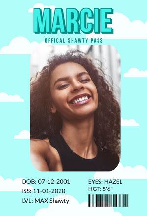 Blue Cloud Shawty Pass Shawty Pass