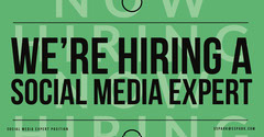 We're Hiring social media iglandscape Social Media Flyer