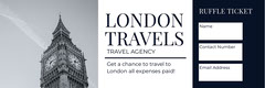 LONDON <BR>TRAVELS  Travel Agency