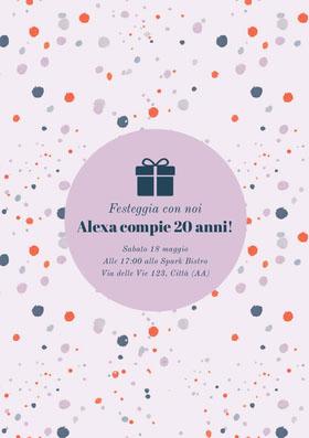Alexa compie 20 anni! Invito al compleanno