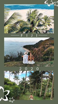 Green With Fiji Photos 2020 Instagram story Instagram Post