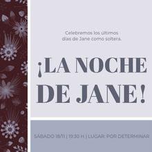 ¡LA NOCHE DE JANE!