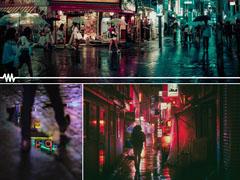 Colorful Photos Of City At Night Social Post City