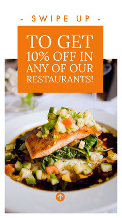 TO GET 10% OFF IN ANY OF OUR RESTAURANTS! Sale Flyer