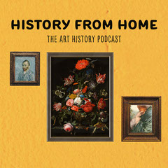 Yellow Art History Podcast Artwork Square History