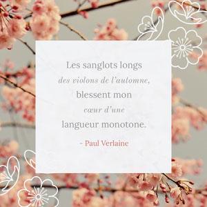 Les sanglots longs <BR>des violons de l'automne, <BR>blessent mon <BR>cœur d'une <BR>langueur monotone.  Police gratuite