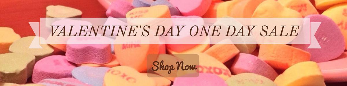 Valentine's Day One Day Sale
