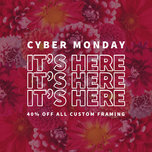 Pink and White Cyber Monday Instagram Graphic Crea i tuoi annunci per il Cyber Monday