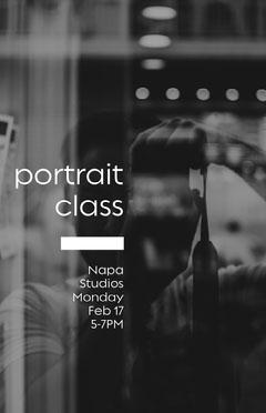 portrait class poster Photography