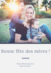 Bonne fête des mères ! Birthday Cards for Mother