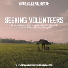 Water Wells Volunteers IG Square  Volunteer