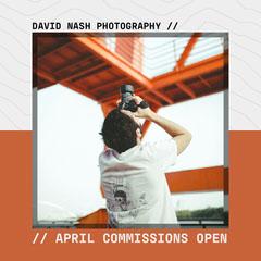 Orange & White David Nash Photography Instagram square Photography
