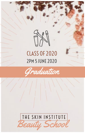 Violet and Brown Graduation Poster Graduation Poster
