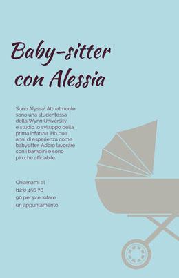 Baby-sitter con Alessia Volantino