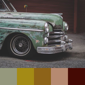 Color Palettes | Retro 7 101 Brilliant Color Combos