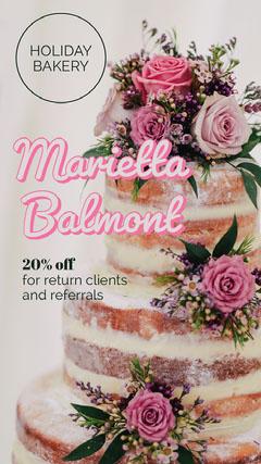 Free Custom Bakery Flyer Poster Templates Adobe Spark