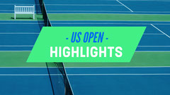 Green Blue and White Highlights Social Post Tennis