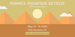 Mountain Retreat Eventbrite Banner  Mountains