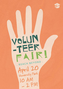 Volunteer Fair Flyer  Fairs