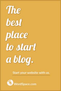 blog website Pinterest ad Social Media Flyer