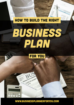 yellow black group how to build a business plan a4 Teams
