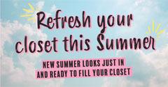 Blue & Pink Sky With Black Text Instagram Landscape Summer